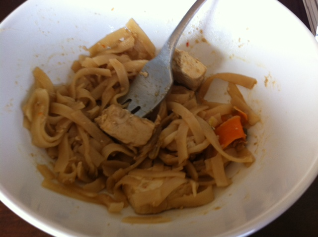 noodles with tofu